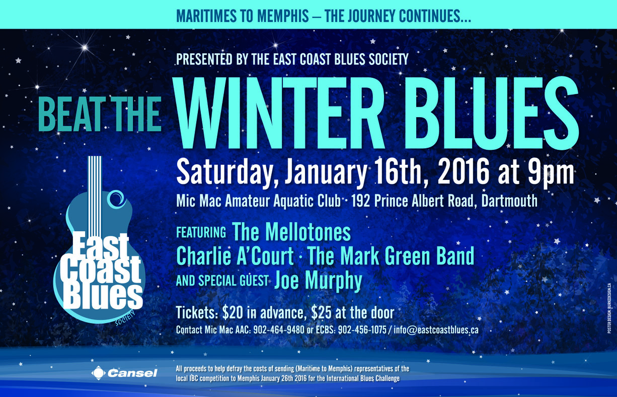 Beat The Winter Blues Poster