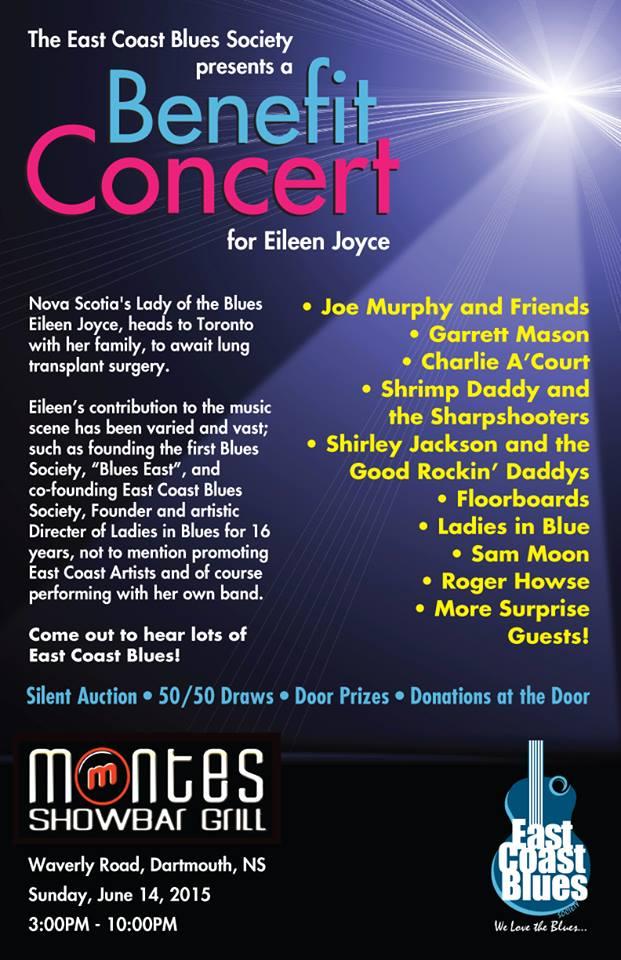 Poster for ECBS' Benefit Concert for Eileen Joyce